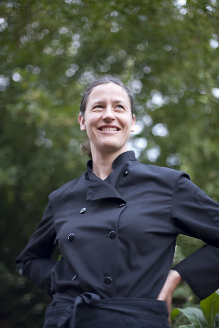 Portrait of Robin Kort, Chef and Sommelier