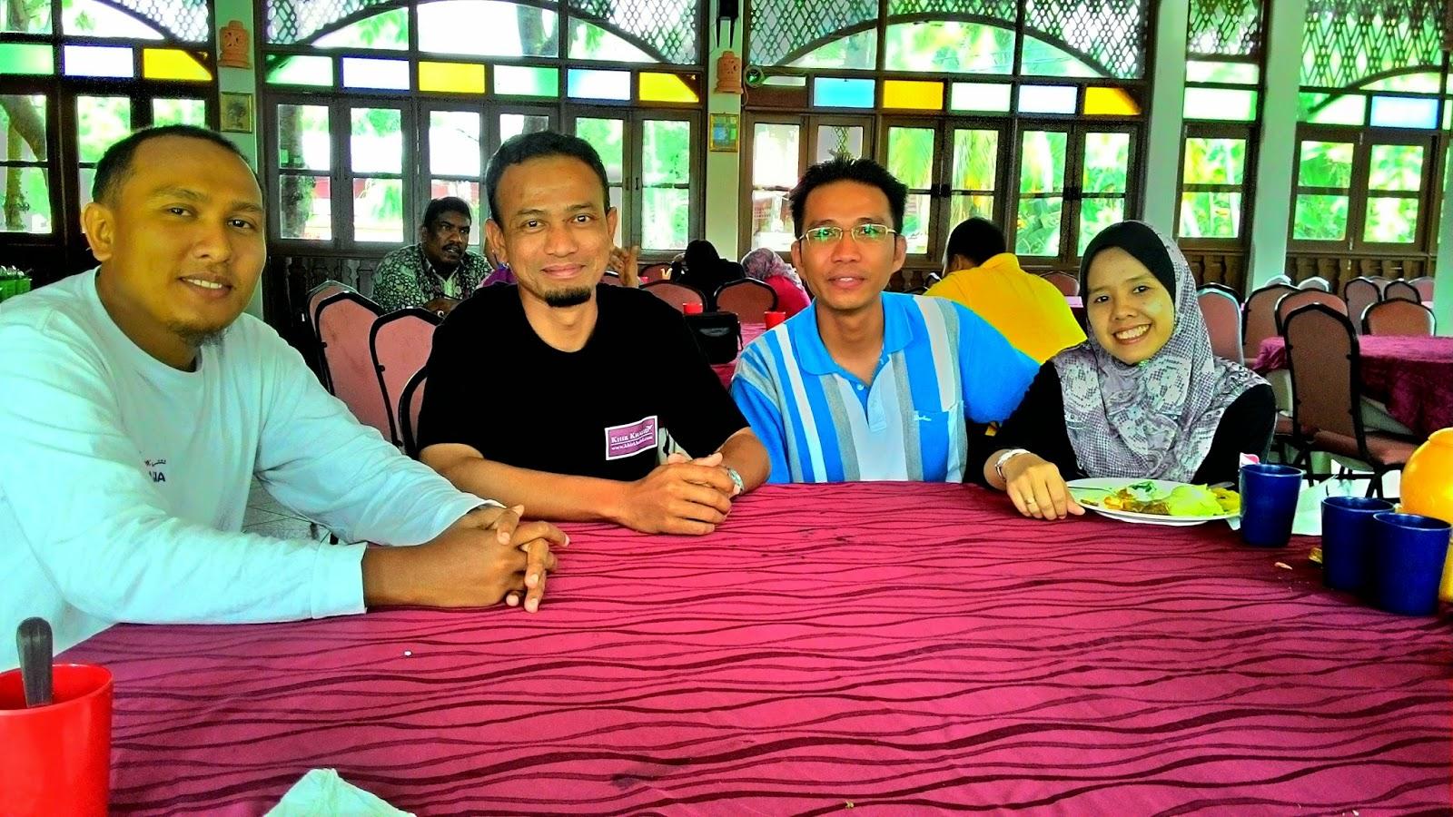 Pasir Salak Eco Resort, Khir Khalid, Esham Halim, Sharil Hakimi