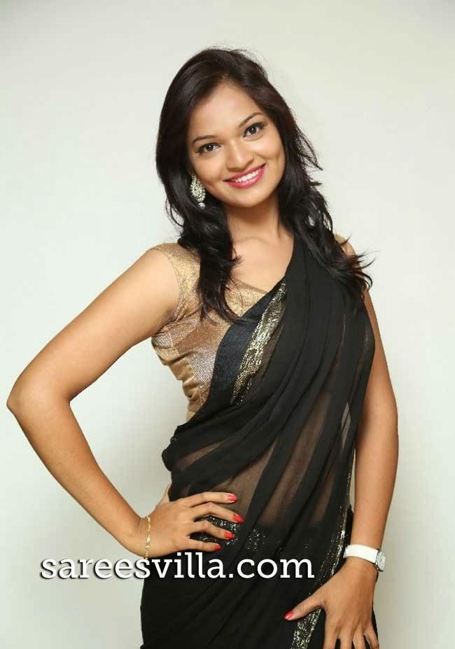 South Indian film actress Aswi
