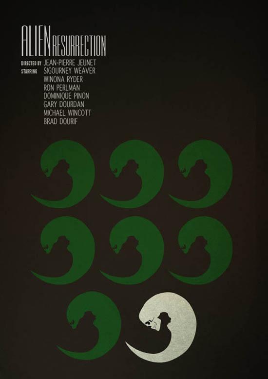 Posters minimalistas - Sam Markiewicz