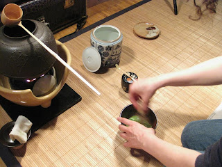 Secret Teatime's chanoyu, Japanese tea ceremony, in Toronto