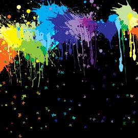 Gambar-gambar warna-warni terindah