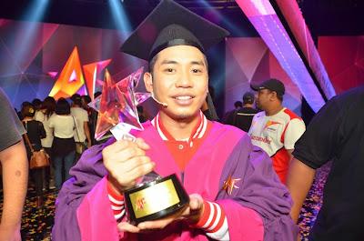 Keputusan Final AF2013: Faizul Juara.