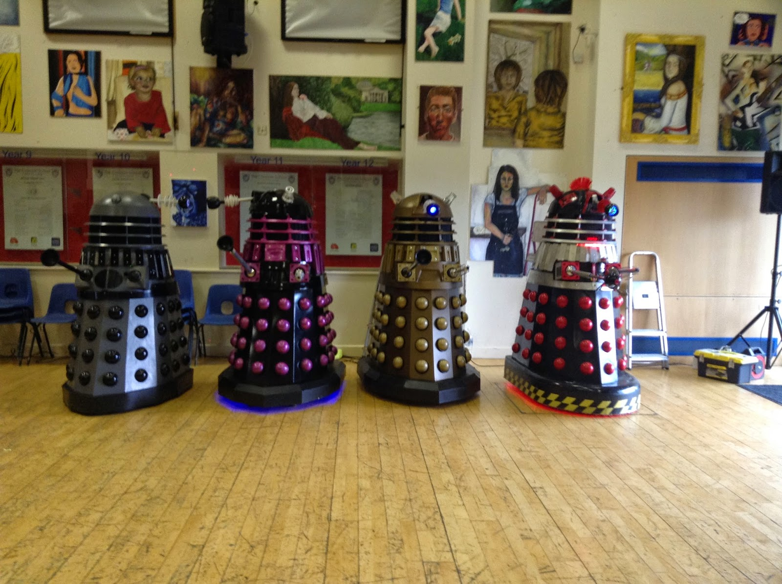 Daleks, Corsham Sci-Fi Day 2015
