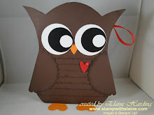 Owl Gift Bag Instructions - 2.50