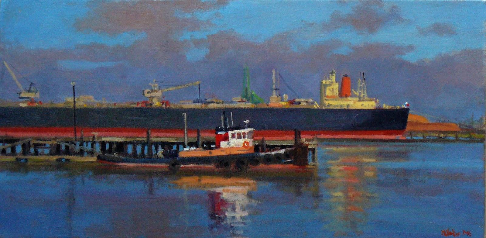 Jim Mcvicker Paintings Early Work 1980 1987