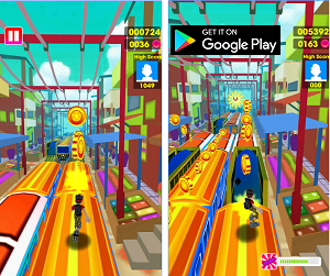 Arcade Game of the Month- Subway Surf: Train Surfers