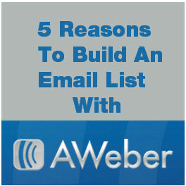 Build and email list with AWeber via @ileane