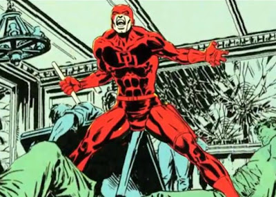 Daredevil, movie, film, comic book, illustration, art, Capes on Film
