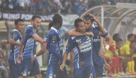 Persib Bandung Taklukkan Semen Padang 1-0