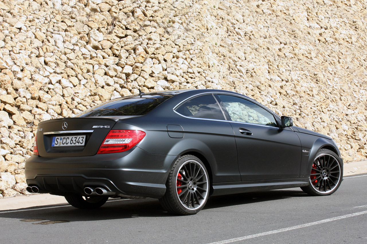 Dcgoldca 2012 mercedes benz amg c63 matte black for C63 mercedes benz amg