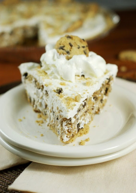 ... Playground: No-Bake Chocolate Chip Cookie Pie {made with Chips Ahoy