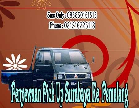 Penyewaan Pick Up Surabaya Ke Pemalang