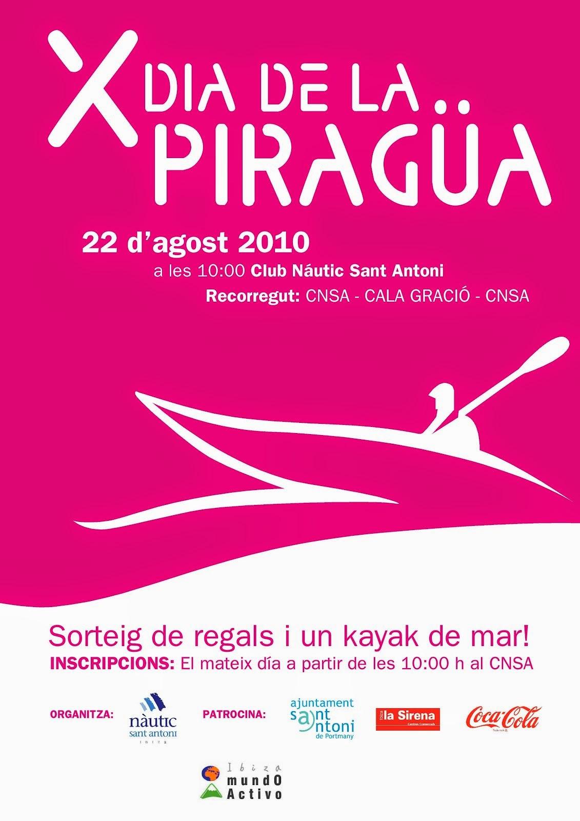 X Día de la Piragua