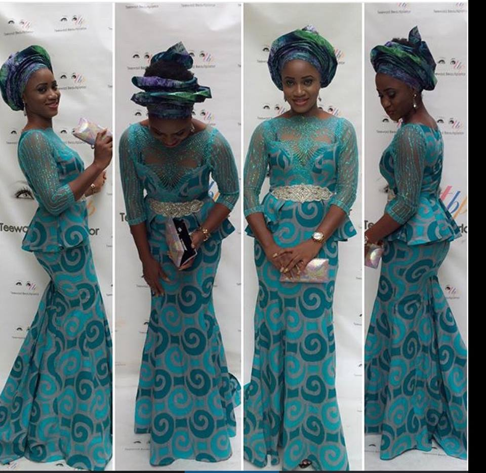 Nigerian Lace Styles For Skirt And Blouse