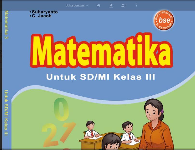 Bahan Belajar Matematika Untuk Sd Kelas 3 Belajar