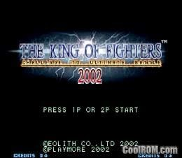 Kinf Of Fighters 2002 Game
