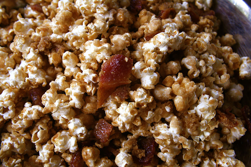 Bacon Caramel Popcorn!