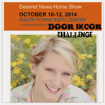 I am Featured at the Door decor challenge: