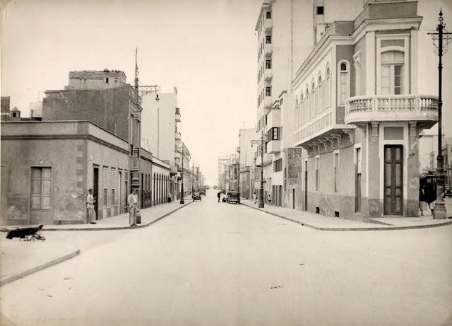 Imagen nº 14459 propiedad del archivo de fotografía histórica de LA FEDAC/CABILDO DE GRAN CANARIA. Realizada por D. Julián Hernández Gil entre los años 1945 y 1950.