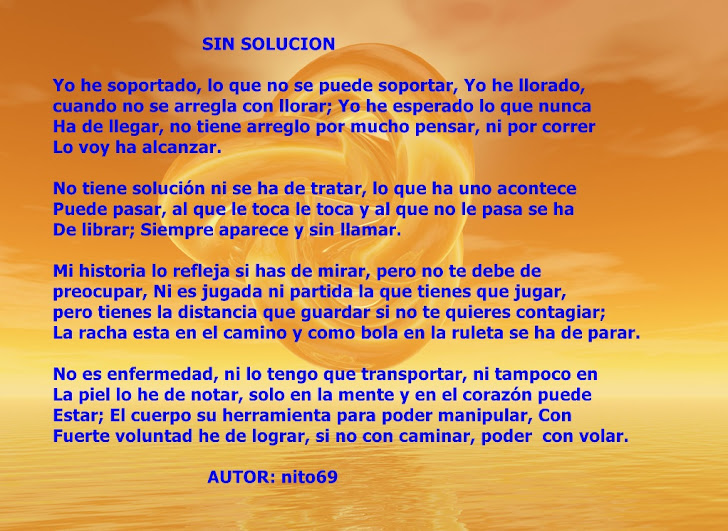 SIN SOLUCION