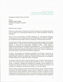 El INEM solicita al Alcalde de Cartagena la devolución de terrenos y predios ocupados irregularmente.