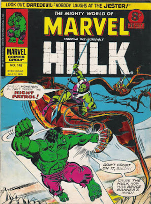 Mighty World of Marvel #145, The Hulk