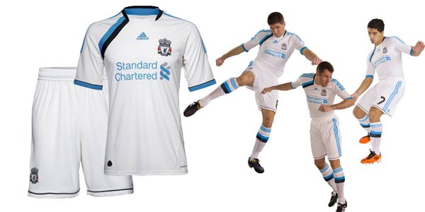The New Liverpool 2011-2012 Kits