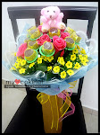 Hand Bouquet Lollychoc