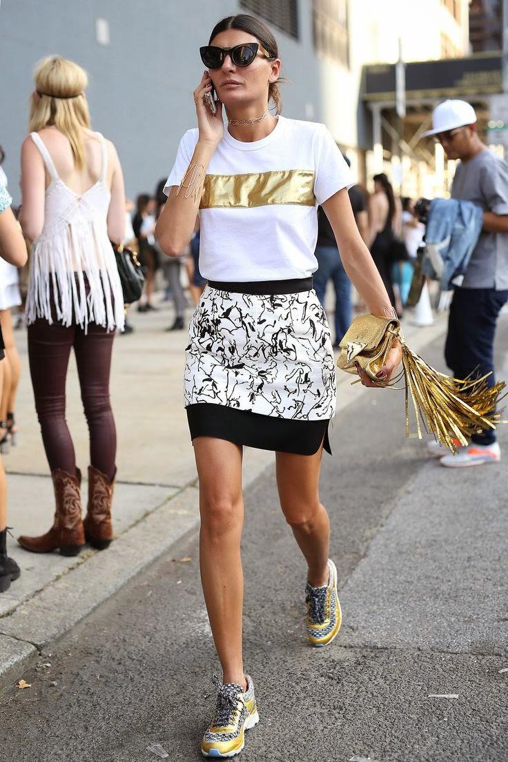 Look do dia - Street style - Giovanna Battaglia  - moda de rua