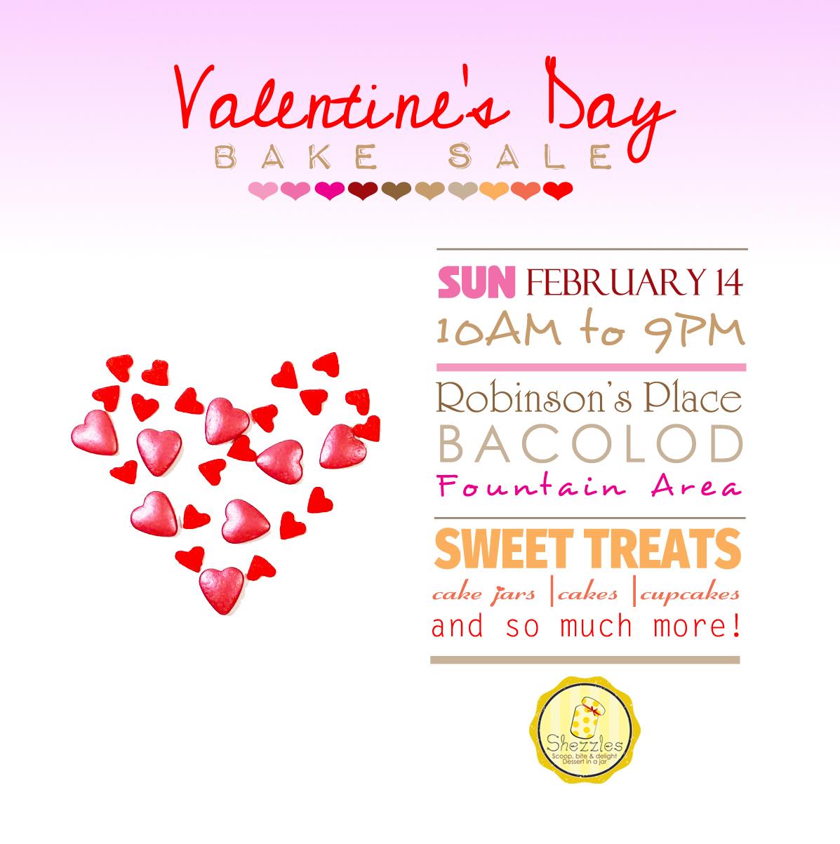 Shezzles Dessert In A Jar Valentine S Day Bake Sale