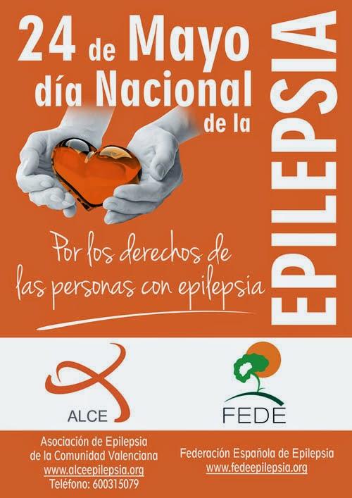 Cartel del día nacional de la epilepsia de la ALCE