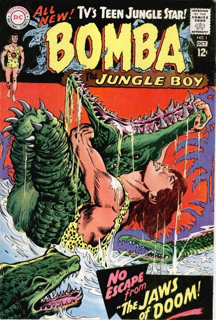 Bomba the Jungle Boy (#01 - #07)1967 - 1968 DC (Complete Series)
