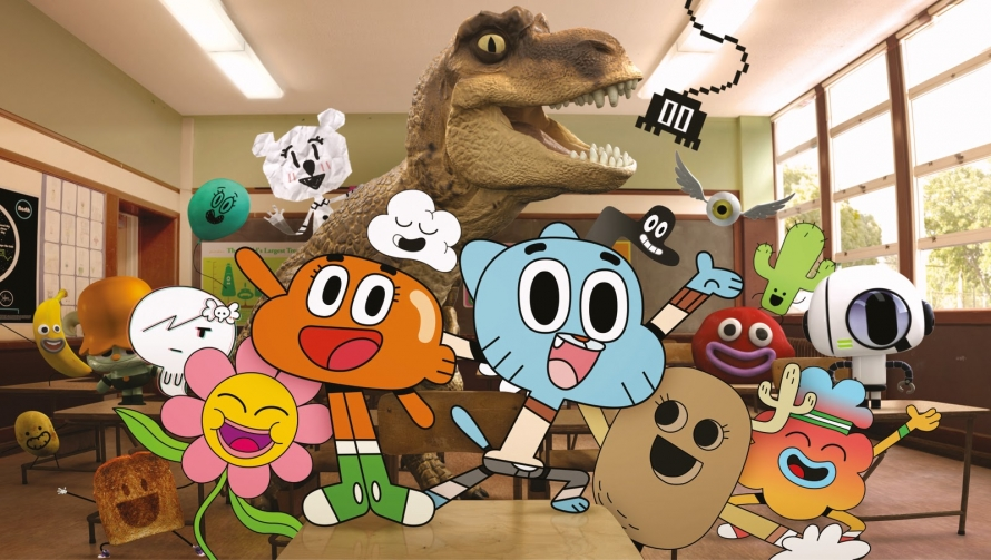 dvd news cartoon network announces the amazing world of