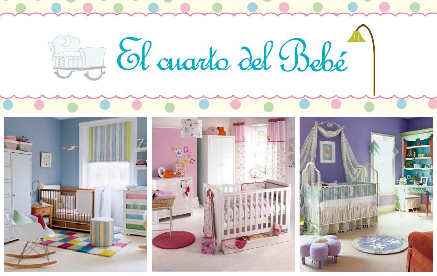 El cuarto del beb pasos para decorar el cuarto del beb for Cuando empezar a preparar la habitacion del bebe