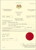 License of Direct Selling