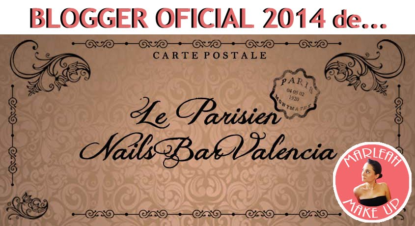 ¡¡SOY BLOGGER OFICIAL 2014 DE LE PARISIEN NAILS BAR VALENCIA!!
