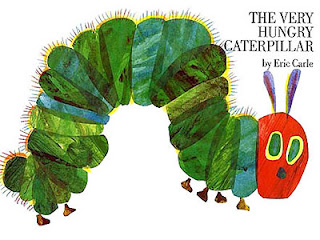 the very hungry caterpillar 01