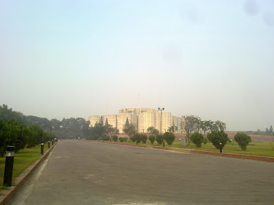 Parliament Building View