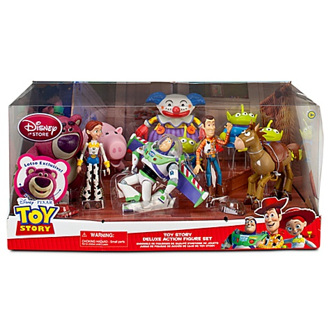 Pixar Collector: New Disney Store Build-A-Figures!