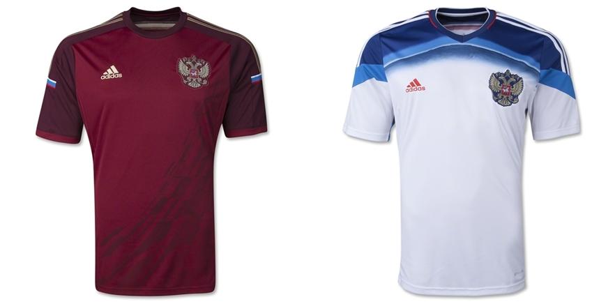 Rusia - Jersey Grade Ori Piala Dunia 2014