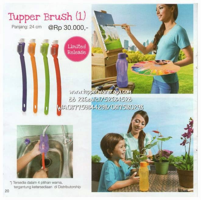 Promo Tupperware Maret Tupper Brush
