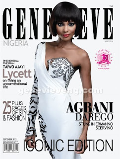 Agbani Darego Covers Genevieve Magazine's Iconic Edition