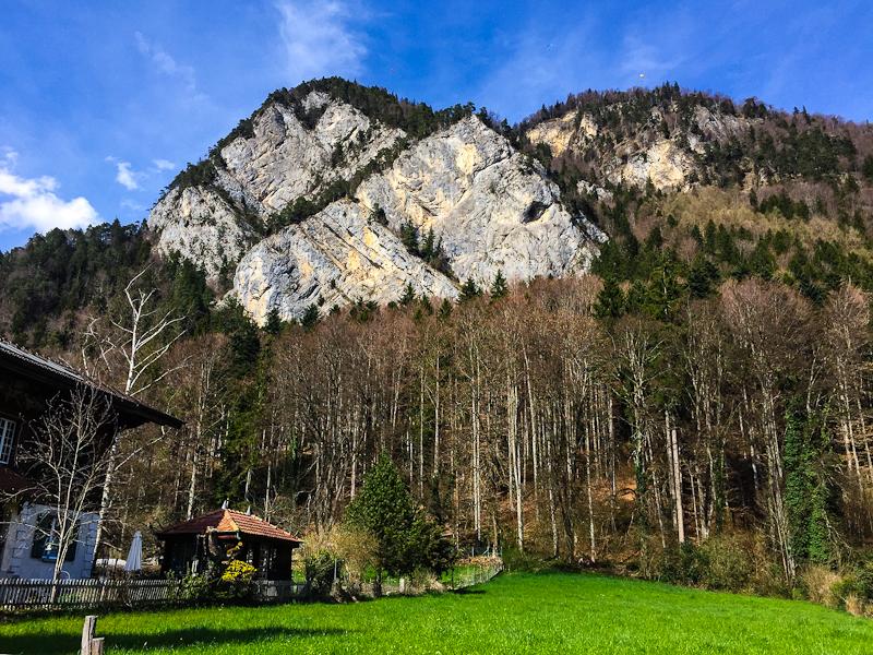 Harder Klum in Interlaken Switzerland from the ground