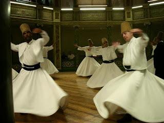 Muslims dancing
