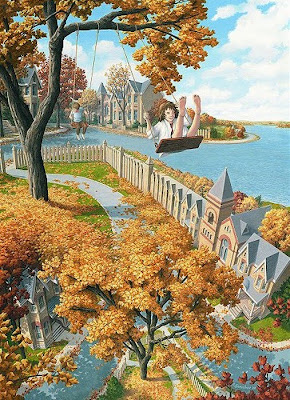 Magic Realism Of Rob Gonsalves Seen On www.coolpicturegallery.us