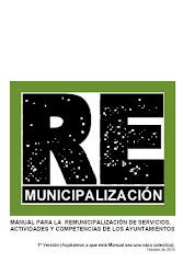 Manual sobre Remunicipalización. Octubre de 2016