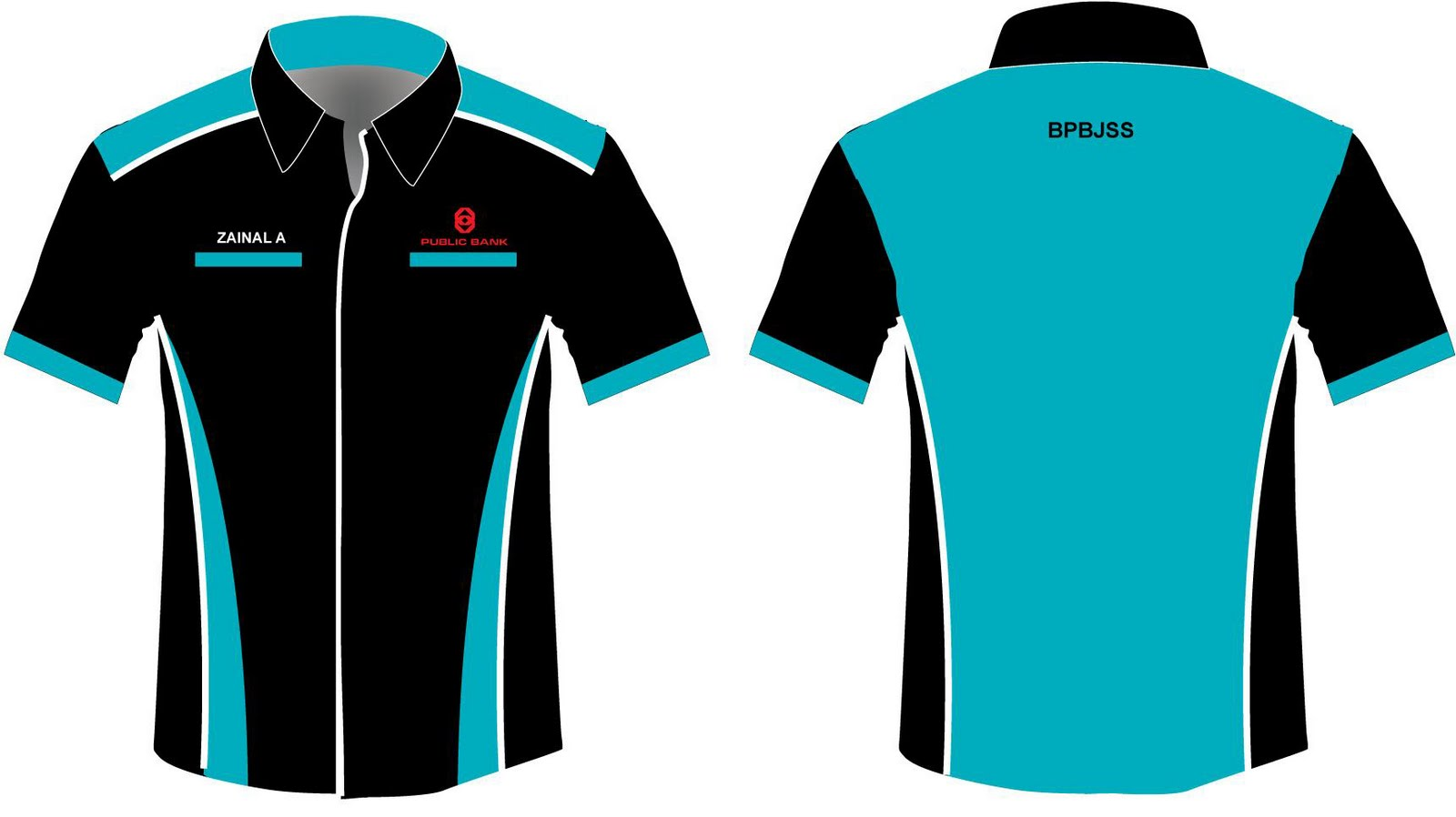 Shirt uniform design vector - Corporat