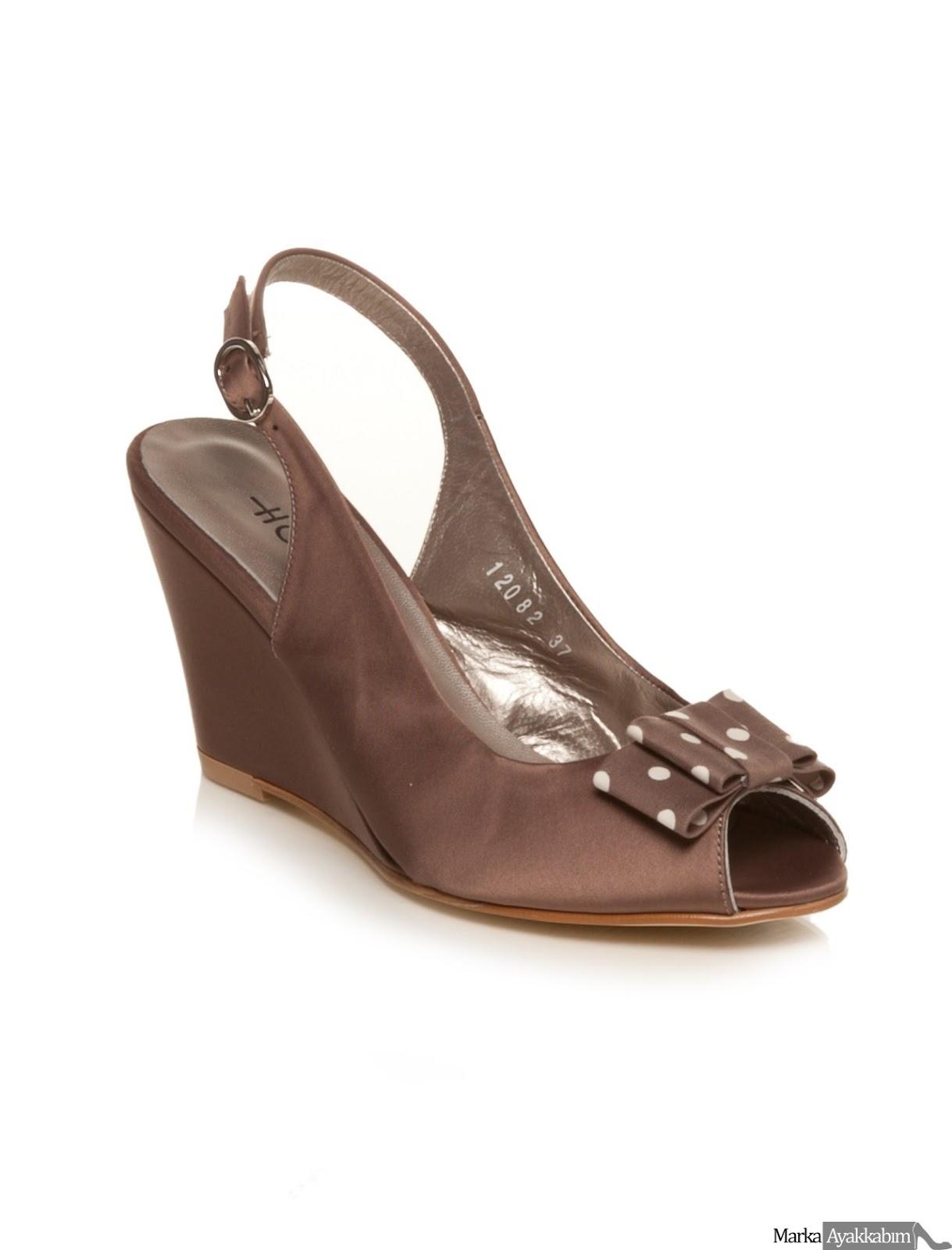 Hotiç dolgu topuk ayakkabı