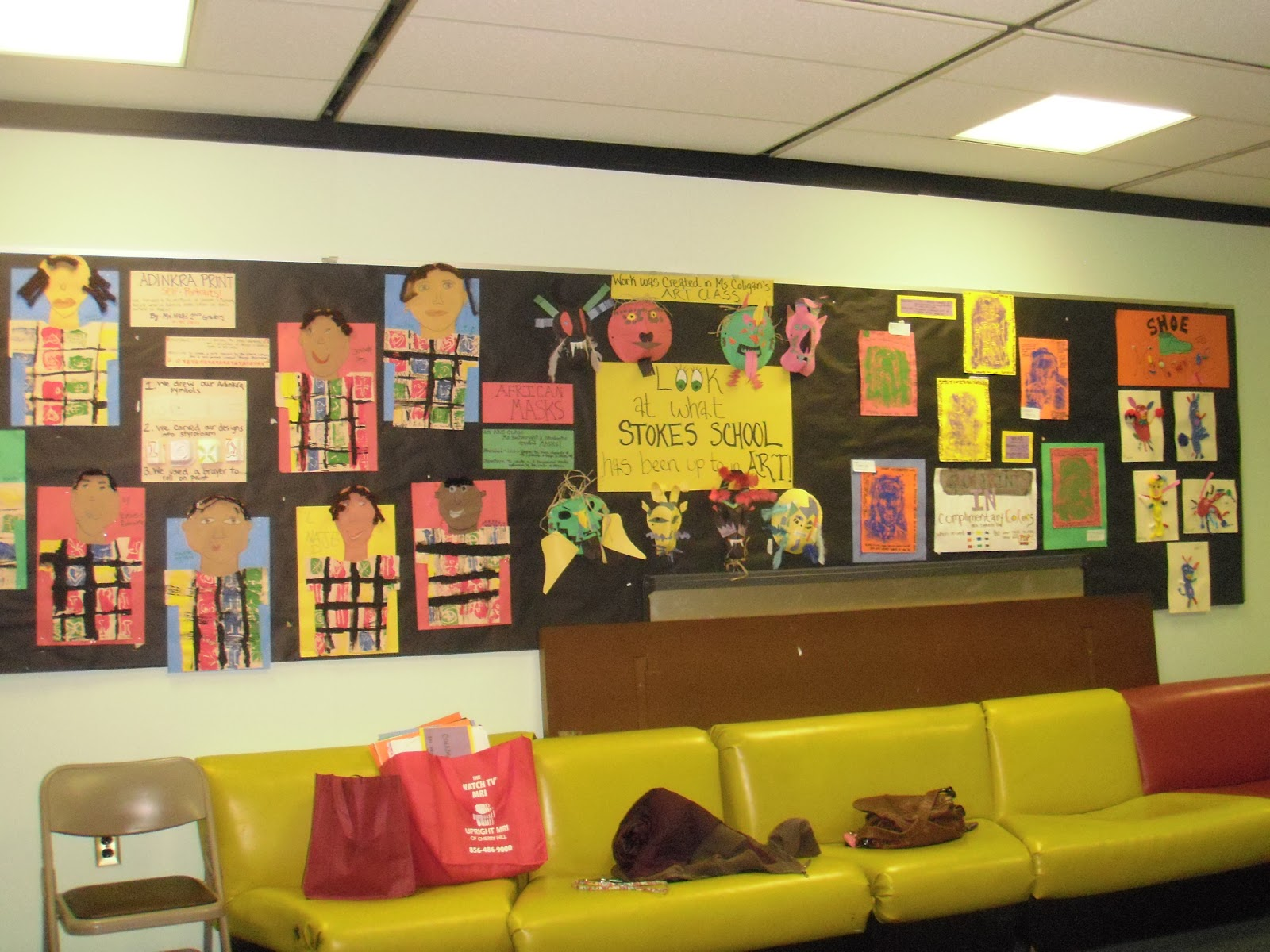 Little Hands Create Big Art: Black History Month Displays